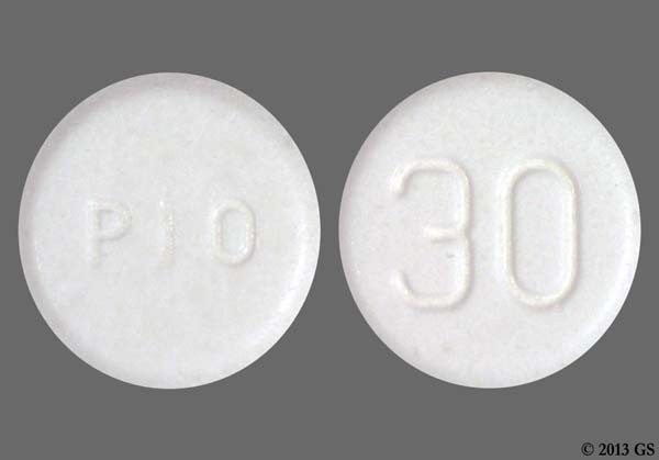 Photo of the drug Actos.