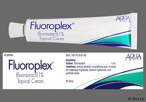 Photo of the drug Fluoroplex.