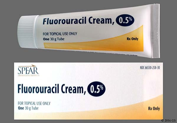 Photo of the drug Fluorouracil.